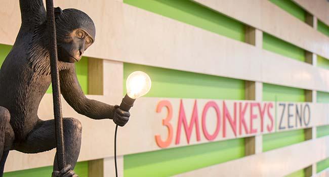 3 monkeys zeno image